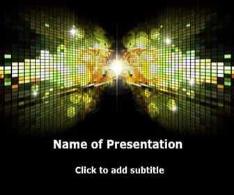 Disco-style Free PowerPoint Template