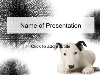 Favorite doggy Free PowerPoint Template
