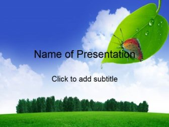Forest resources Free PowerPoint Template
