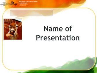 Deer Free PowerPoint Template