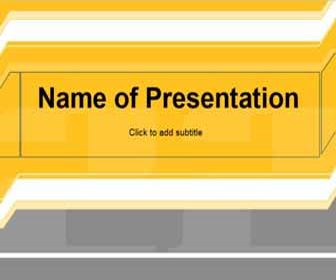 Yellow Free PowerPoint Template