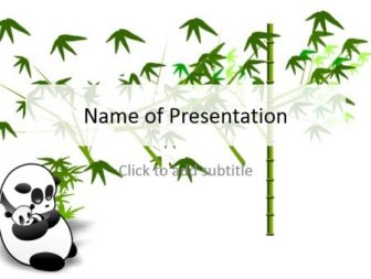 Panda Free PowerPoint Template