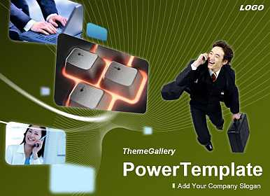 E-commerce Free PowerPoint Template
