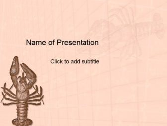 Crab Free PowerPoint Template