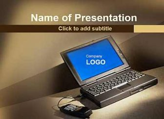 Computer Free PowerPoint Template