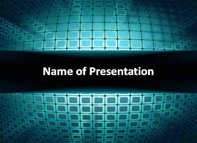 3d background Free PowerPoint Template