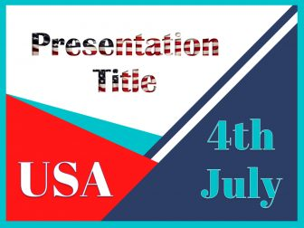 4th July Free PowerPoint Template