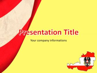 Austria powerpoint template ppt theme free austria flag and map download austria flag and map powerpoint template for presentations you can create presentations about the countrys culture customs family life gender toneelgroepblik Image collections
