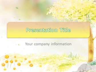 Autumn Free PowerPoint Template