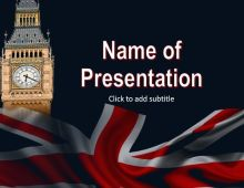 Big Ben Free PowerPoint Template