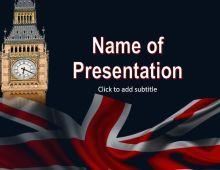 Big Ben Free PowerPoint Template