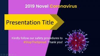 Animated Coronavirus Free PowerPoint Template