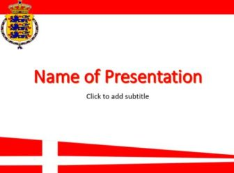 Denmark Free PowerPoint Template