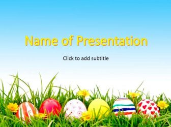 Happy Easter Free PowerPoint Template