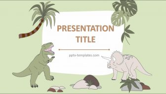 Dinosaurs Free PowerPoint Template