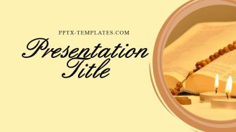 The Holy Rosary Free PowerPoint Template