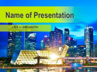 Hong Kong Free PowerPoint Template