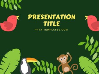 Jungle Free PowerPoint Template