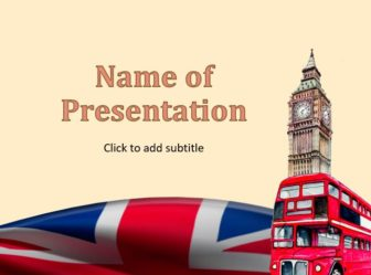 London Free PowerPoint Template