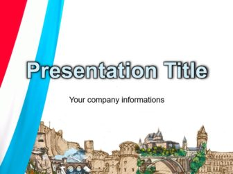 Luxembourg Free PowerPoint Template