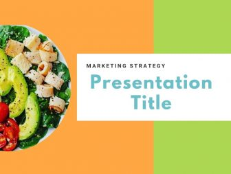 Marketing Healthy Food Free PowerPoint Template