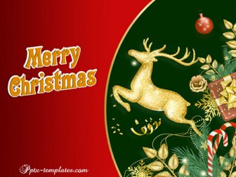 Merry Christmas Free PowerPoint Template