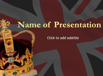 Monarchy of the United Kingdom Free PowerPoint Template