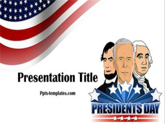 Presidents Day Free PowerPoint Template
