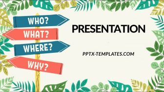 Question Free PowerPoint Template