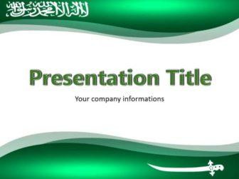 Saudi Arabia Free PowerPoint Template