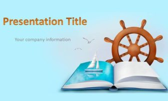 Sea Voyage Free PowerPoint Template