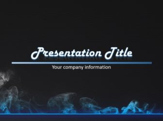Smoke Free PowerPoint Template