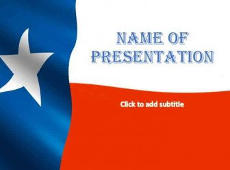 Texas Free PowerPoint Template