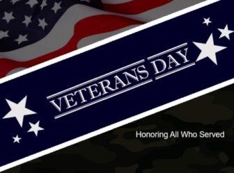 Veterans Day, USA Flag, Stars, Military Background,
