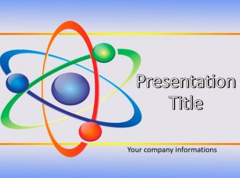 Atom Free PowerPoint Template