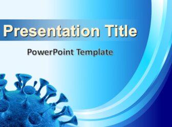 Coronavirus PowerPoint Template Free PowerPoint Template