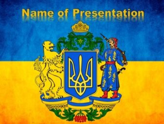 Ukraine Free PowerPoint Template