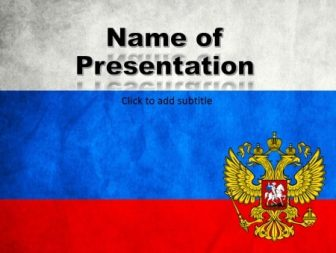 Russia Free PowerPoint Template