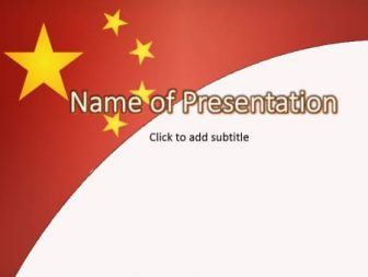 China Free PowerPoint Template