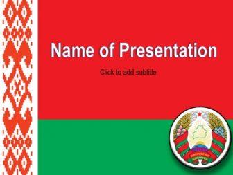 Belarus Free PowerPoint Template