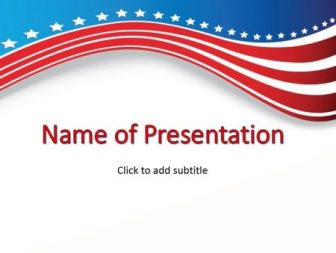 USA Free PowerPoint Template
