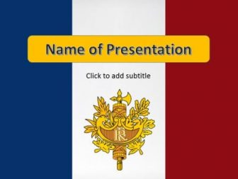 France Free PowerPoint Template