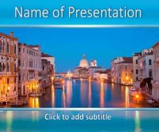 Venice Free PowerPoint Template