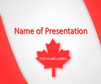 Canada Free PowerPoint Template