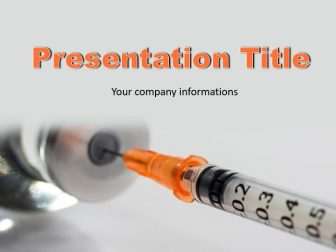 Diabetes Free PowerPoint Template