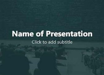 Audience Free PowerPoint Template