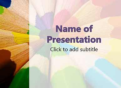 Varicoloured pencils education powerpoint templates free download varicolored pencils free powerpoint template toneelgroepblik Image collections