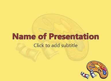 Drawing Free PowerPoint Template