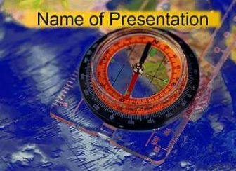 Compass Free PowerPoint Template