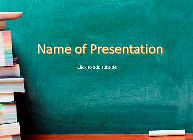 School Free PowerPoint Template